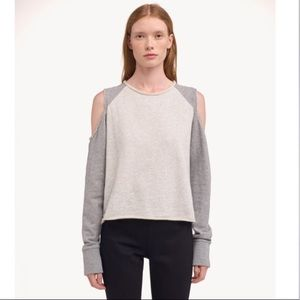Rag & Bone Standard Issue Cold Shoulder Sweatshirt